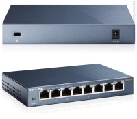 Комутатор TP-Link TL-SG108 8-Port Gigabit Desktop Switch