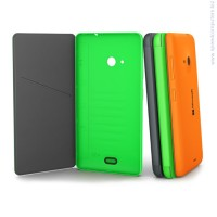Microsoft CC-3092 Flip Shell for Lumia 535 Green калъф за смартфон