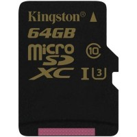 Kingston 64GB microSDXC Canvas Select 80R карта памет
