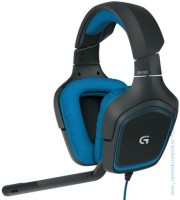 Слушалки Logitech G430 Surround Sound Gaming
