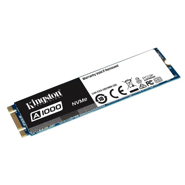 Kingston A1000 480GB M.2 2280 PCIE NVME SSD диск артикул SA1000M8/480G