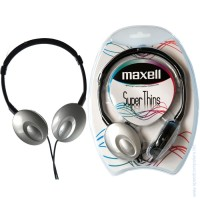 Слушалки MAXELL Super THIN Сребрист