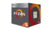 AMD Ryzen 5 2400G with Radeon RX Vega 11 Graphics AM4 YD2400C5FBBOX Процесор