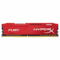 Kingston HyperX Fury Red 8GB DDR4 2666MHz памет