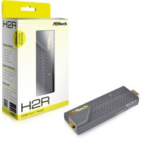 Asrock H2R 2-In-1 wireless router и HDMI Мултимедиен плеър