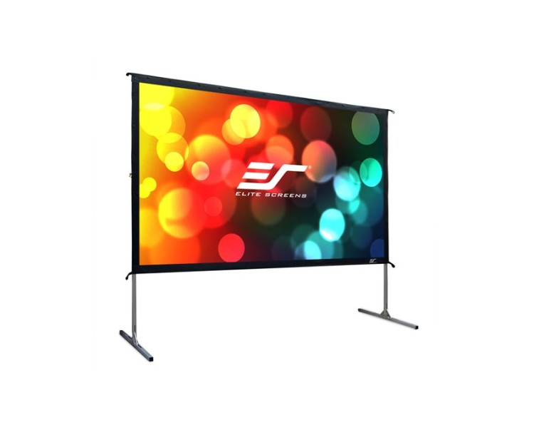 "Екран Elite Screen OMS100H2 Yard Master2 Outdoor 100"" черен артикул OMS100H2"
