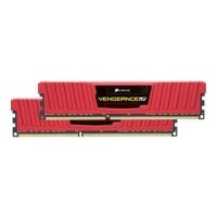 Corsair Vengeance 16GB(2x8GB) 1600MHz DDR3 CL10 памет червен