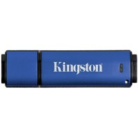 Kingston 8GB USB 3.0 DTVP30/ 256bit AES Encrypted памет