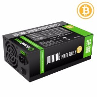 Gamemax PSU 1800W GOLD 90+ Bitcoin Mining 18xPCIe - GM-1800 захранване за компютър