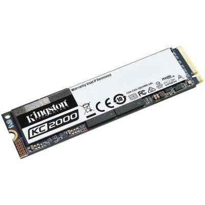 Kingston KC2000 1TB M.2 2280 NVMe SSD диск артикул SKC2000M8/1000G