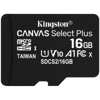 Kingston 16GB microSDHC Canvas Select Plus 100R карта памет