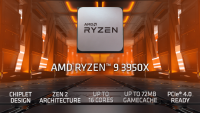 AMD Ryzen 9 3950X 4.70GHz AM4 tray процесор