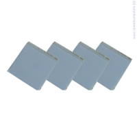 термо лепенка OEM Thermal Pad - 13 x 13 x 2.8 mm, 4 pcs