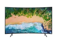 "Samsung 65"" 65NU7372 CURVED 4K UHD LED телевизор черен"