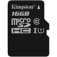 Kingston 16GB microSDHC Canvas Select карта памет