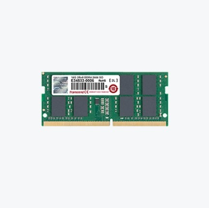 Transcend 16GB DDR4 2666MHz SO-DIMM памет артикул TS2GSH64V6B