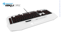 Roccat Isku FX Multicolor White Геймърска клавиатура