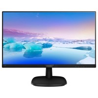 "Philips 223V7QHSB 21.5"" Ultra Narrow Wide IPS LED Монитор черен"