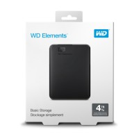 Western Digital Elements Portable 4TB 2.5 USB3.0 външен диск черен