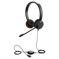 Jabra Evolve 20 MS Stereo USB слушалки с микрофон