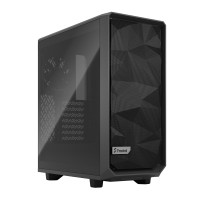 Fractal Design Meshify 2 Compact Light Tempered Glass кутия за компютър сив