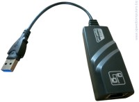 USB 3.0 Мрежова карта - adapter USB to LAN RG45 gigabit