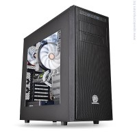 Thermaltake Versa H34 Black ATX кутия