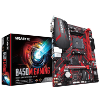 Gigabyte B450M Gaming AM4 mATX дънна платка