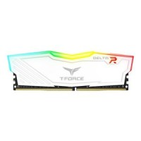 Team Group T-Force Delta RGB DDR4 16GB 2400MHz памет бял