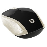 HP 200 Silk Wireless мишка златист