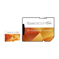 Team Group Color 128GB Micro SD карта памет + адаптер
