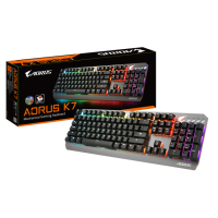 Gigabyte Aorus K7 RGB Red Switch геймърска клавиатура