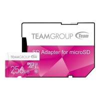 Team Group Color 256GB Micro SD карта памет + адаптер