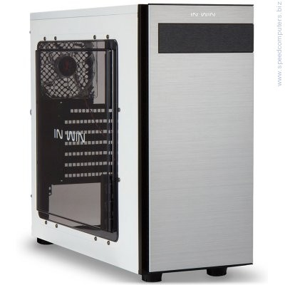 Кутия In Win 703 Mid Tower ATX Бял артикул 703.WHITE