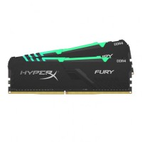 Kingston HyperX Fury RGB 16GB(2X8GB) 3200MHz DDR4 памет
