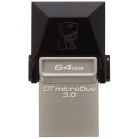 Kingston 64GB DataTraveler microDuo USB 3.0 памет