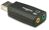 Звукова карта Manhattan Hi-Speed USB 2.0