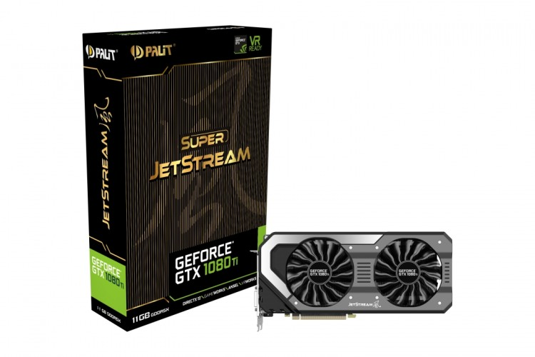 Palit GTX 1080TI Super JetStream 11GB GDDR5X Видео карта  артикул NEB108T015LCJ