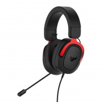 Asus Tuf Gaming H3 Red 7.1 геймърски слушалки