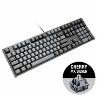 Ducky One 2 Skyline MX Cherry Silver геймърска клавиатура