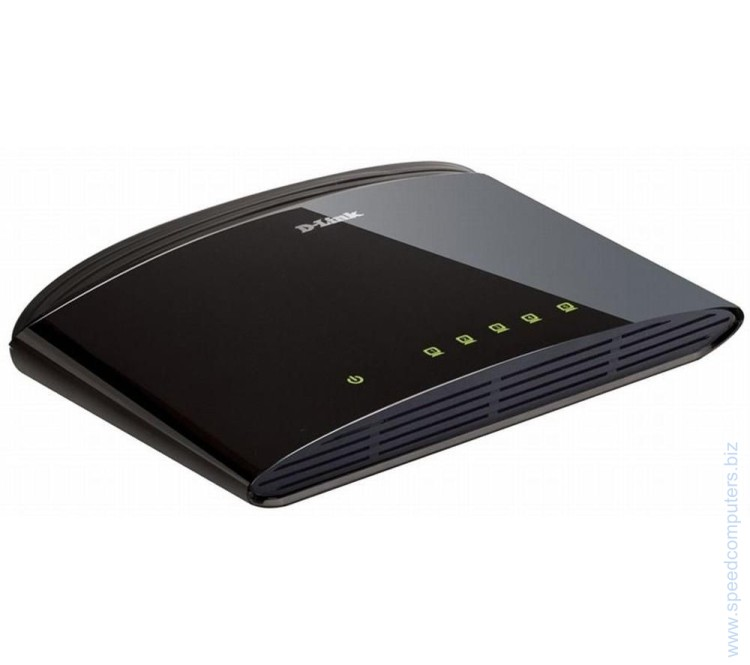 D-Link DES-1005D 5-Port 10/100Mbps Fast Ethernet Unmanaged Switch артикул DES-1005D