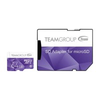 Team Group Color 64GB Micro SD карта памет + адаптер