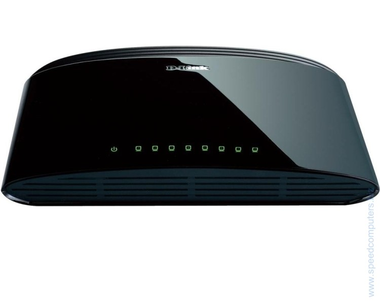 D-Link DES-1008D 8-Port 10/100Mbps Fast Ethernet Unmanaged Switch артикул DES-1008D