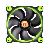 Thermaltake Riing 140x140x25 12v 1500 RPM LED GREEN вентилатор