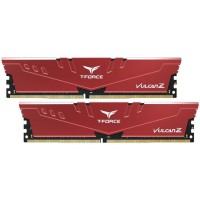 Team Group T-Force Vulcan Z 16GB 3200MHz DDR4 памет червен