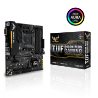 Asus TUF B450M-Plus Gaming AM4 ATX дънна платка