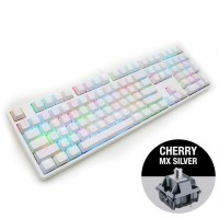 Ducky One White RGB геймърска клавиатура