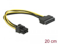 DeLock Power SATA 15 pin към 6 pin PCI Express
