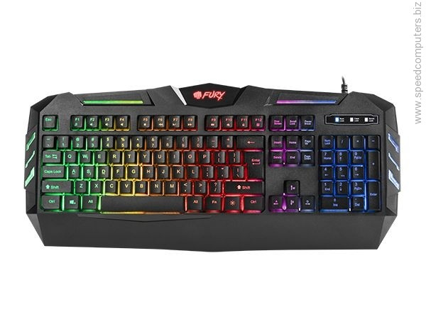 Natec Fury SPITFIRE NFU-0868 Gaming Keyboard с подсветка артикул NFU-0868