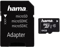 HAMA Micro SDXC 64GB Class 10 UHS-I SD adapter карта памет